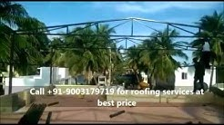 Residential Terrace Roofing Sheets Installation in Chennai| gkmroofing.com