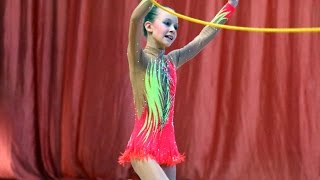 Rhythmic gymnastics with rope in Russia 8