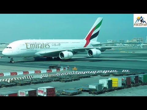 Landing Of Emirates Airline At Dubai International Airport  Jobs Booking Tickets business class