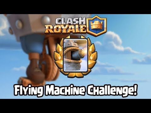 Clash Royale 👑 Flying Machine Challenge!