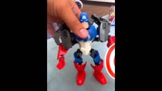 Building Lego Captain America Set 4597(2)