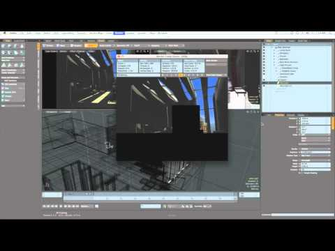 Architectural Facade Lighting Architectural Lighting in Modo