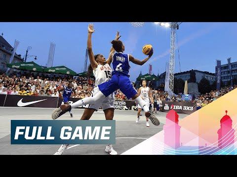 France v USA - Women's Final Full Game - 2015 FIBA 3x3 U18 World Championships