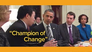 Andrew Yang -  Champion of Change