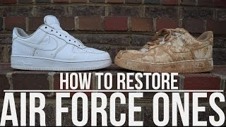 Video How To Clean Air Force Ones download MP3, 3GP, MP4, WEBM, AVI, FLV Juli 2018