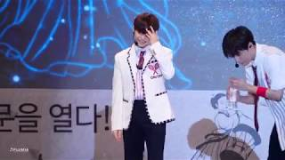 [4K 60p] 180913 온앤오프 ONF - Fly me to the Moon : 라운 LAUN 포커스 ( 홍성 홍주천년 기념음악회 무대 ) 직캠 / Fancam