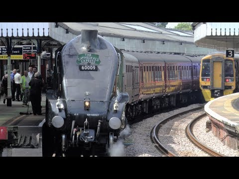 60009 'Union of South Africa' Hauling The White Horses Lunchtime Tour - 18/07/17