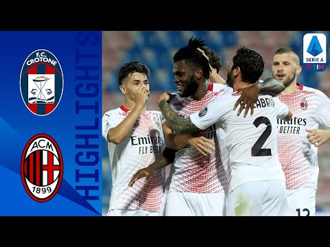 Crotone AC Milan Goals And Highlights