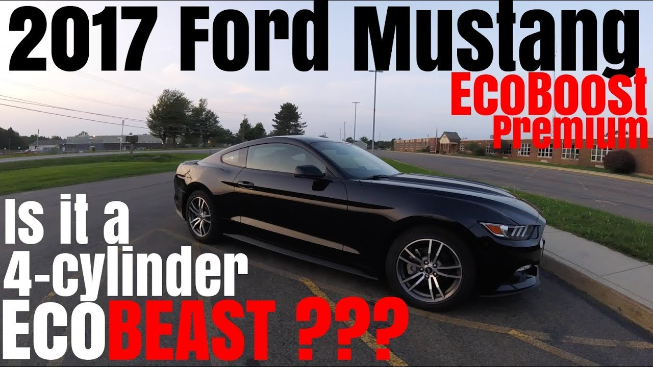 2017 ford mustang ecoboost premium 0 60 review