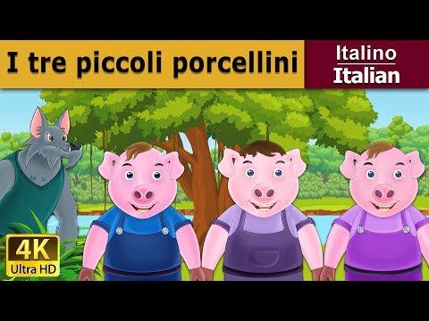 I tre piccoli porcellini   Storie Per Bambini   Favole Per Bambini   Fiabe Italiane