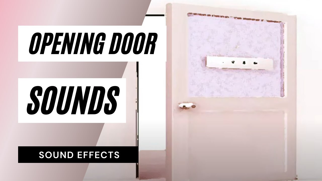 Opening Door - Sound Effect  sc 1 st  YouTube & Opening Door - Sound Effect - YouTube