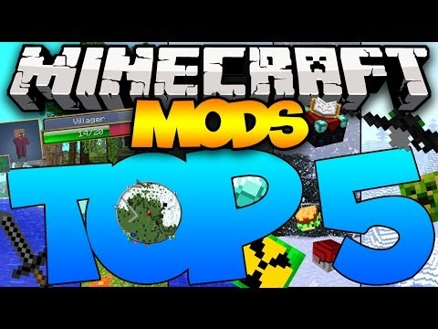 TOP 5 MINECRAFT MODS OF ALL TIME