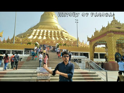 The Global vipassana pagoda gorai | Pagoda temple | Marve Beach| Mumbai Maharashtra India