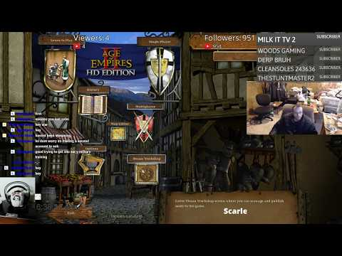 Changing your Timeline..... Stream. PlayingAge of Empires. Day 56.