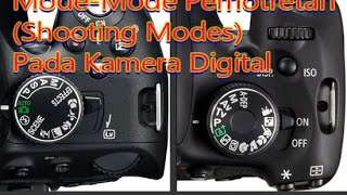 Mode-Mode Pemotretan (Shooting Modes) Kamera Digital (2019)