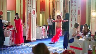 Восточные танцы на свадьбе в ресторане Ипподром, Москва || Linda Show