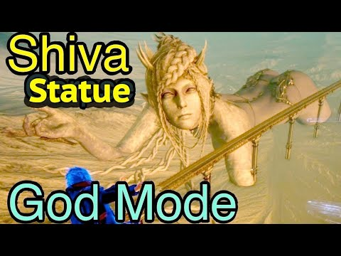 Final Fantasy XV: Shiva Corpse in God Mode