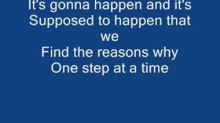 Jordin Sparks-one Step At A Time Lyrics