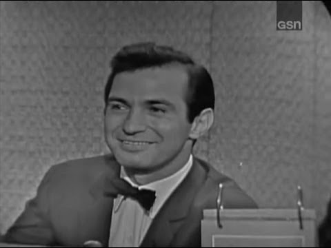 What's My Line?  Ben Gazzara; Martin Gabel panel Sep 3, 1961