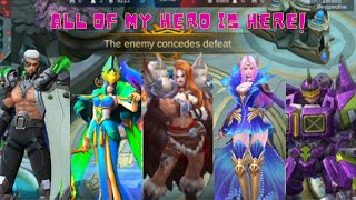 ALL OF MY HERO IS HERE | MOBILELEGEND