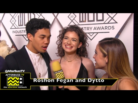 Roshon Fegan and Dytto at the World of Dance Industry Awards 2017