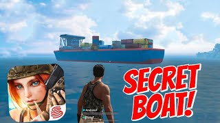 SECRET BOAT LOCATION! Rules Of Survival Gameplay + More! (Mobile PubG/Fortnite)