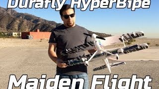 Durafly HyperBipe - Maiden Flight