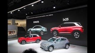 [2019 상하이] 현대차 중국형 쏘나타 및 신형 ix…