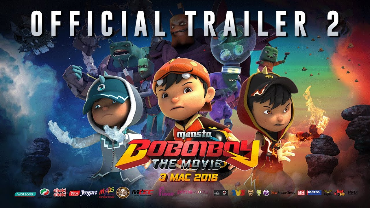BoBoiBoy The Movie Trailer 2 - In Cinemas 3 March (Malaysia) & 13 April (Indonesia)