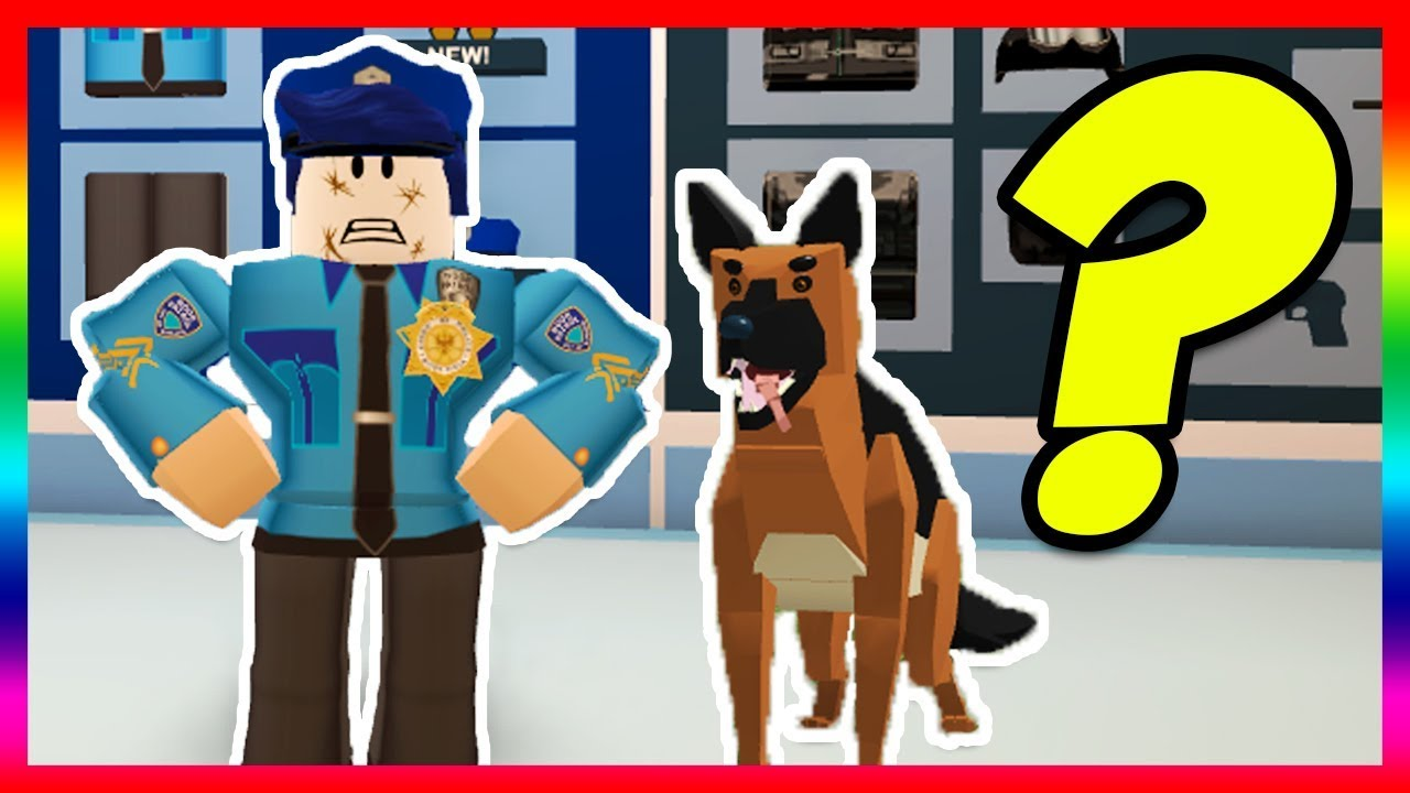 How To Hack On Roblox Jailbreak Into Police Jailbreak Police Dogs Update Coming Roblox Youtube