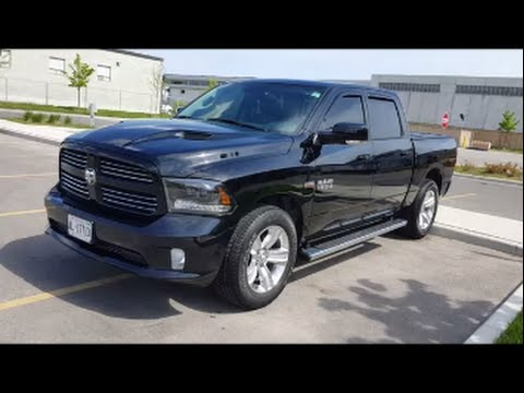 2015 RAM 1500 - LAVA-RAPIDO - TORONTO - CANADA - CAR WASH - CREW CAB V8 - RAM - 20x9 rims with stock
