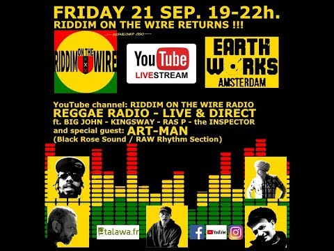 Riddim on the Wire Reggae Radio Live Stream