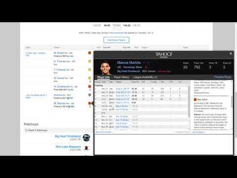 Money League Week 5 Review