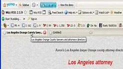 Search Engine Optimization - SEO - Los Angeles lawyers