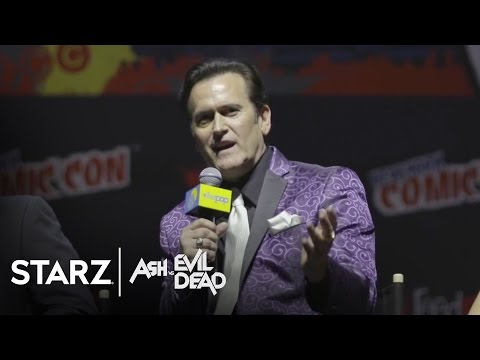 Ash vs Evil Dead | New York Comic-Con 2015 Panel | STARZ