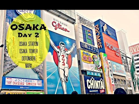Osaka JAPAN Day 2 | Osaka Station, Dotonbori, and Nara