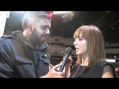Carol Vordeman talks Nathan Cleverly (Interview) for iFILM LONDON / CLEVERLY v KARPENCY