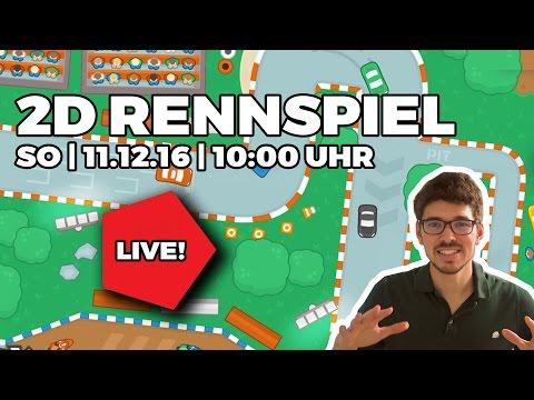 2D RENNSPIEL programmieren - Unity3D - Deutsch/German - 11.12.2016 | 10:00 UHR