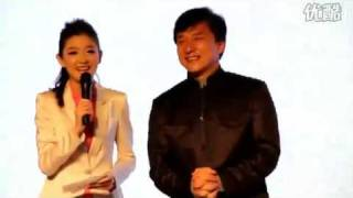 Jackie Chan 2010 At Cannon Press Conference