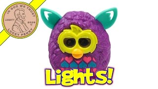 Furby Boom #3 Light Up Eyes - 2013 McDonald's Happy Meal Toy Review