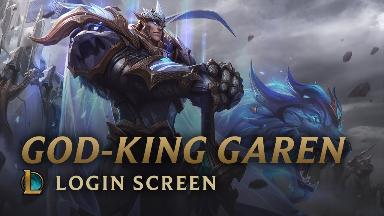 VS 2018: God-King Garen - League of Legends Videosu