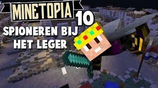 SPIONEREN IN DE LEGERBASIS - Minetopia Roleplay #10