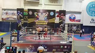Акбар Таиров Чемпионат Кубка Мира по Кикбоксингу (финал)
