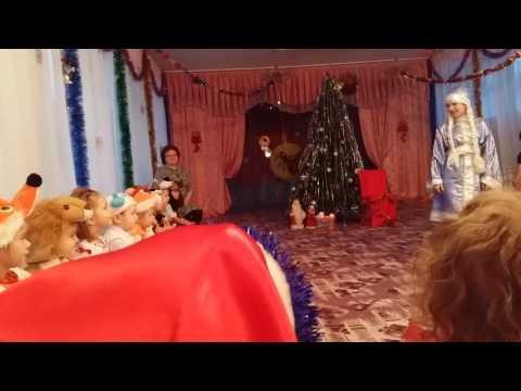 """Новый год в садике №1 """"Чебурашка"""" ч 3 Усть-Илимск"""