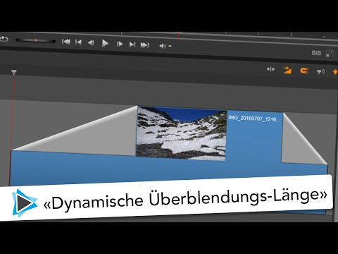 Dynamische Überblendungslängen Pinnacle Studio 20 Deutsch Video Tutorial
