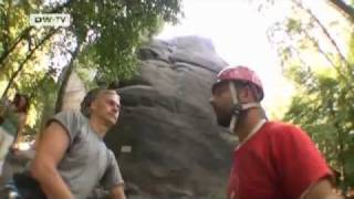 Climbing in Saxony Switzerland