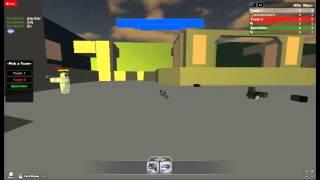 ROBLOX LSF SmbkMachinima vencendo um duelo de E9