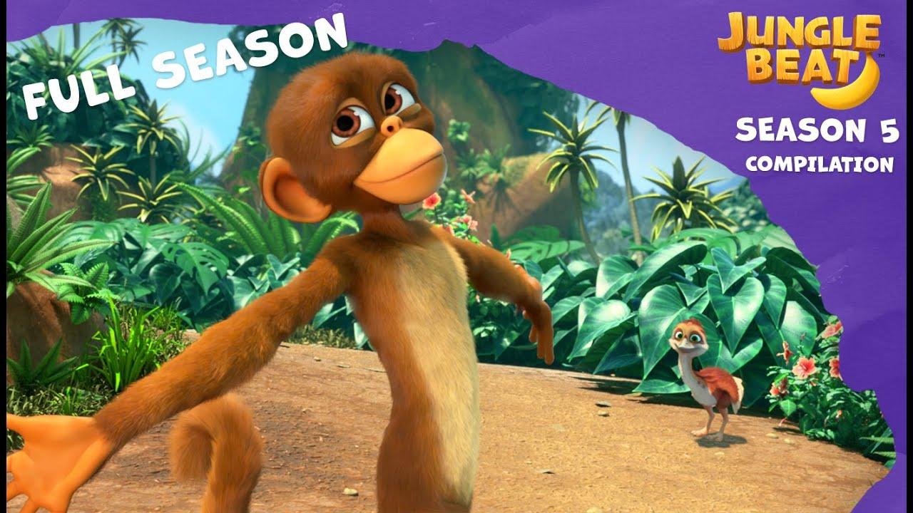 Full Season Compilation | Jungle Beat: Munki and Trunk | Kids Animation 2021