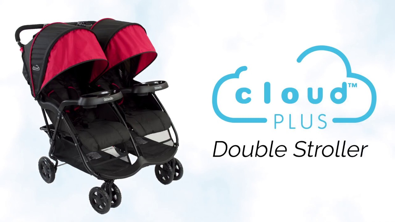 Introducing the Kolcraft Cloud Plus Double Stroller