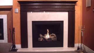 Majestic 500dvbl 'solitaire' Direct Vent Gas Fireplace.mp4